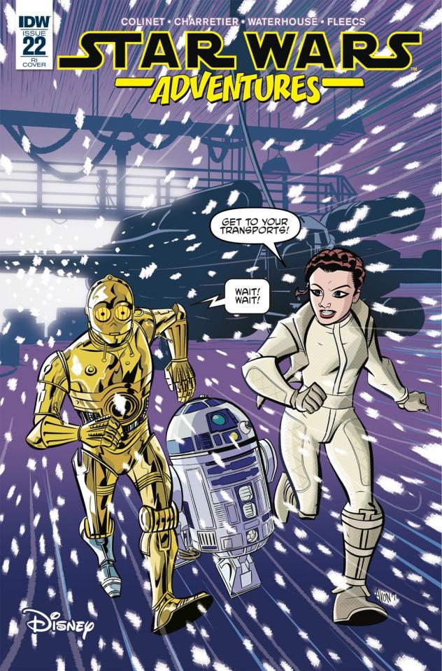 Star Wars Adventures #22 (10 Copy Oeming Cover)