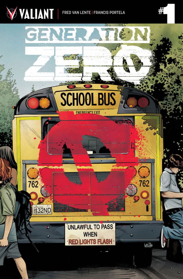 Generation Zero #1 (Mooney Cover)