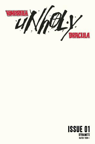 Vampirella / Dracula: Unholy #1 (Blank Authentix Cover)