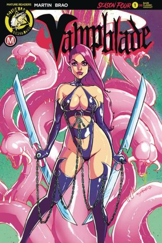 Vampblade, Season Four #1 (Desario Cover)