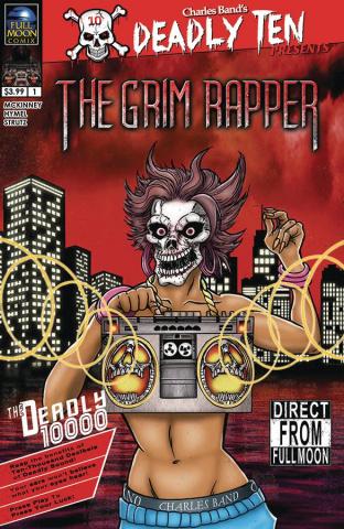 Deadly Ten Presents: The Grim Rapper (Fowler Cover)