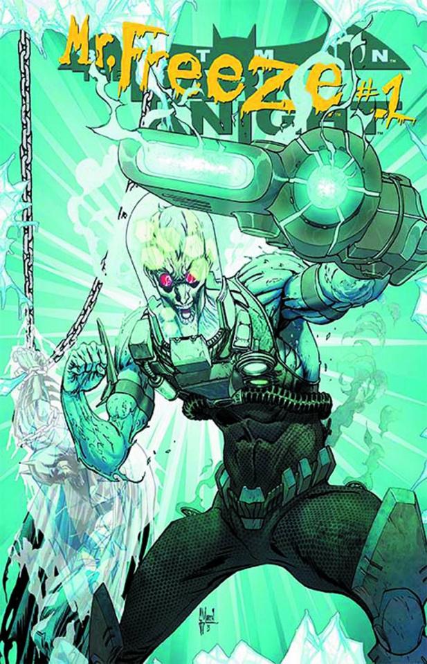Batman: The Dark Knight #23.2: Mr Freeze Standard Cover