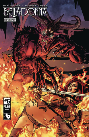Belladonna: Fire and Fury #6 (Demonic Cover)