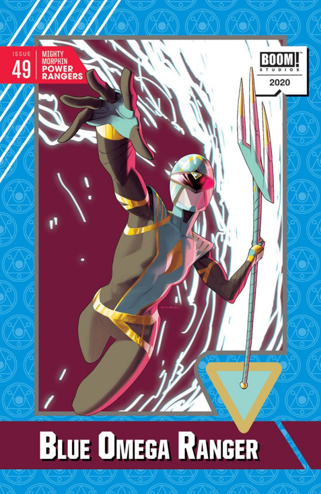 Mighty Morphin' Power Rangers #49 (20 Copy Anka Cover)