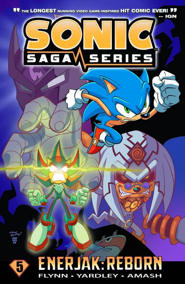 Sonic Saga Vol. 5: Enerjak - Reborn