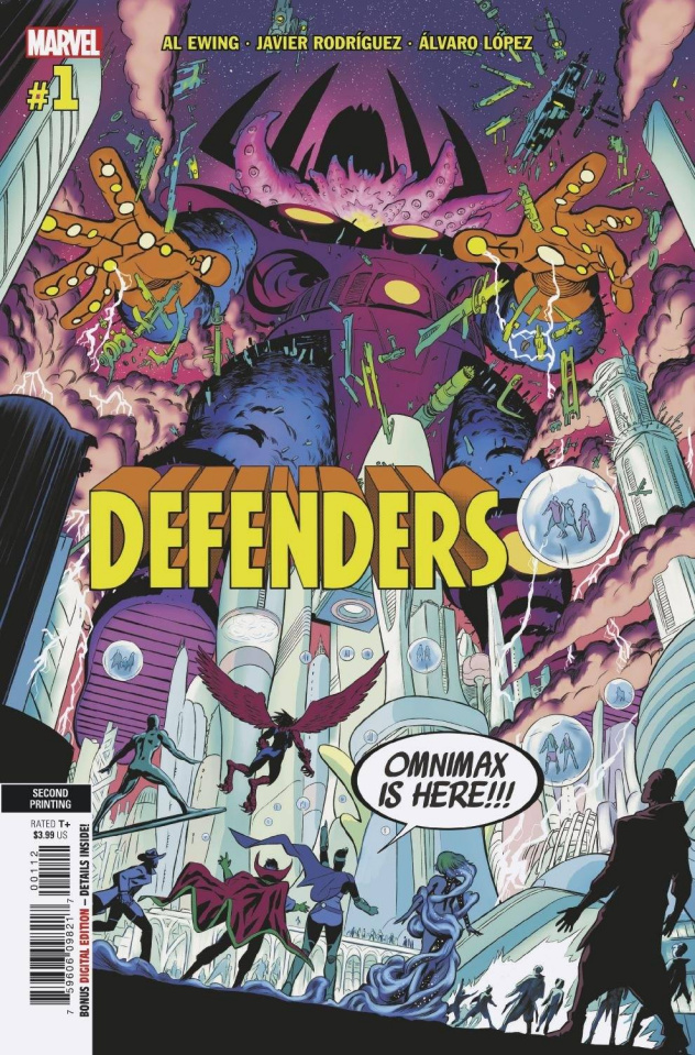 Defenders #1 (2nd Printing)