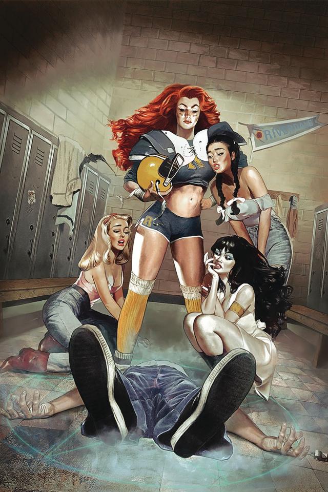Red Sonja and Vampirella Meet Betty and Veronica #2 (Dalton Virgin Cover)