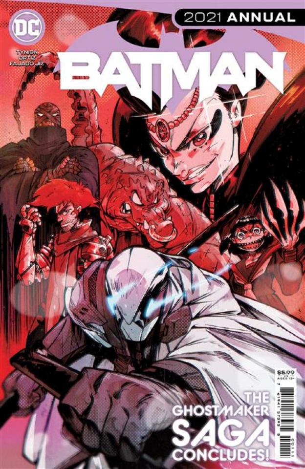 Batman 2021 Annual #1 (Ricardo Lopez Ortiz Cover)