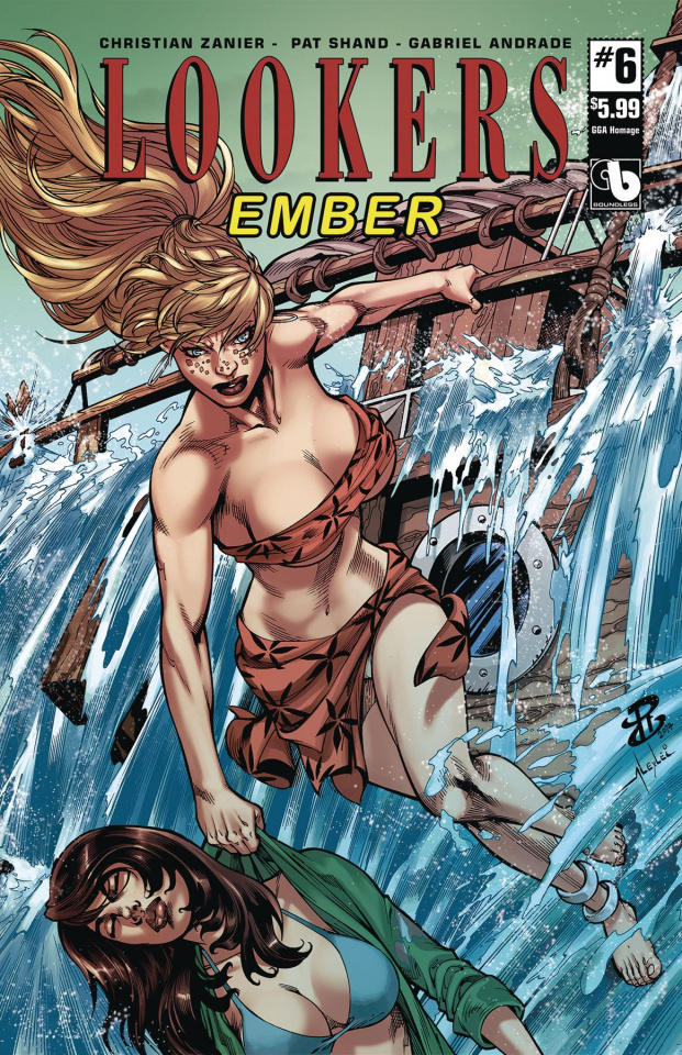 Lookers: Ember #6 (GGA Homage Cover)