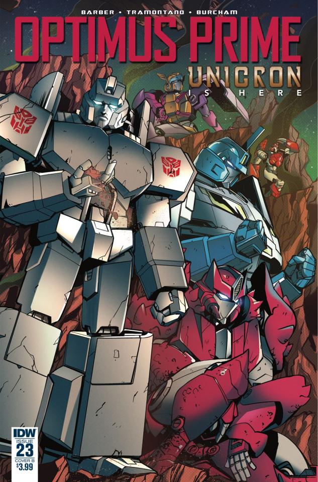 Optimus Prime #23 (Tramontano Cover)