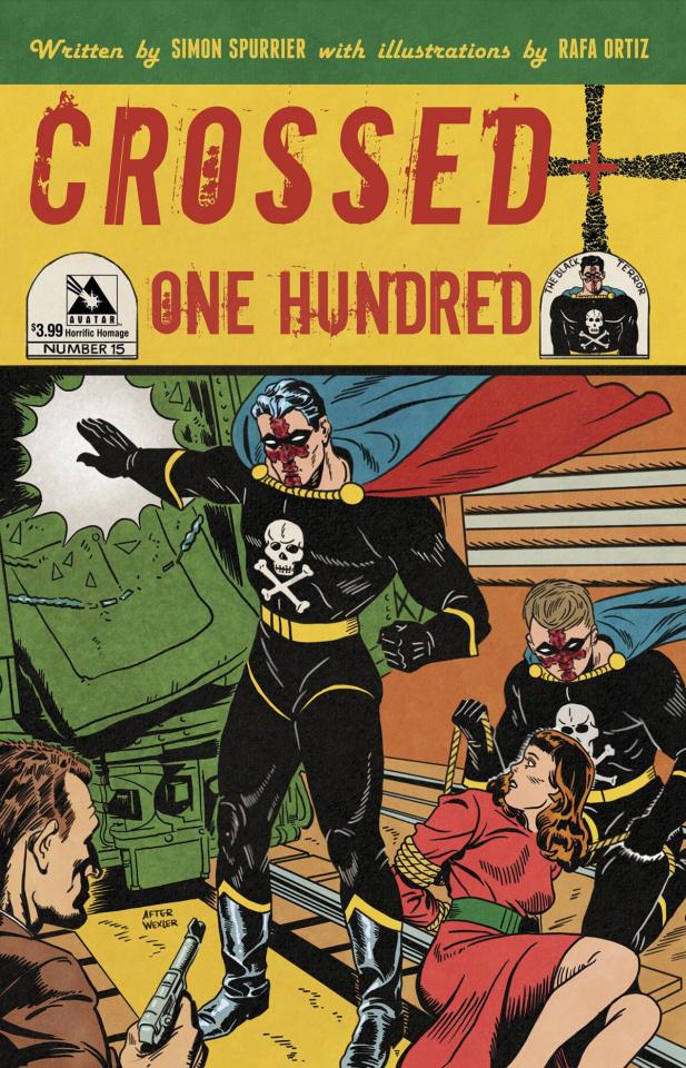 Crossed + One Hundred #15 (Horrific Homage Cover)