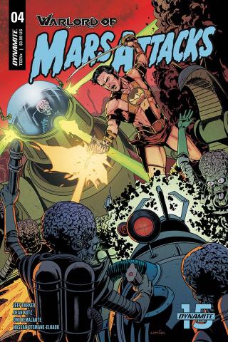 Warlord of Mars Attacks #4 (Laming Cover)