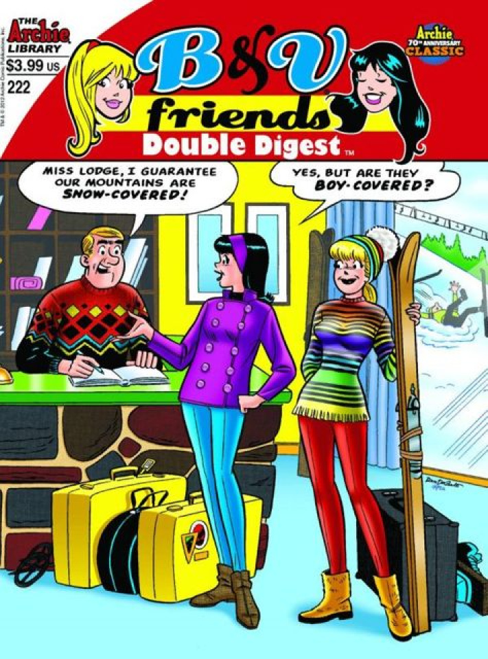Betty & Veronica Friends Double Digest #221