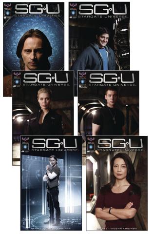 Stargate Universe #1-6 (Limited Edition Set)