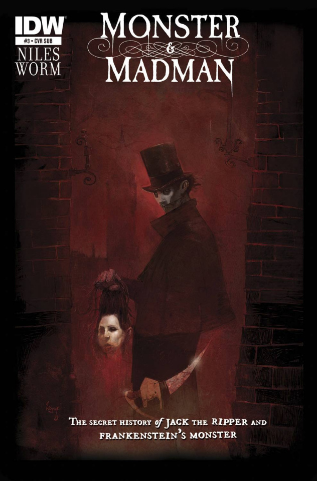 Monster & Madman #3 (Subscription Cover)