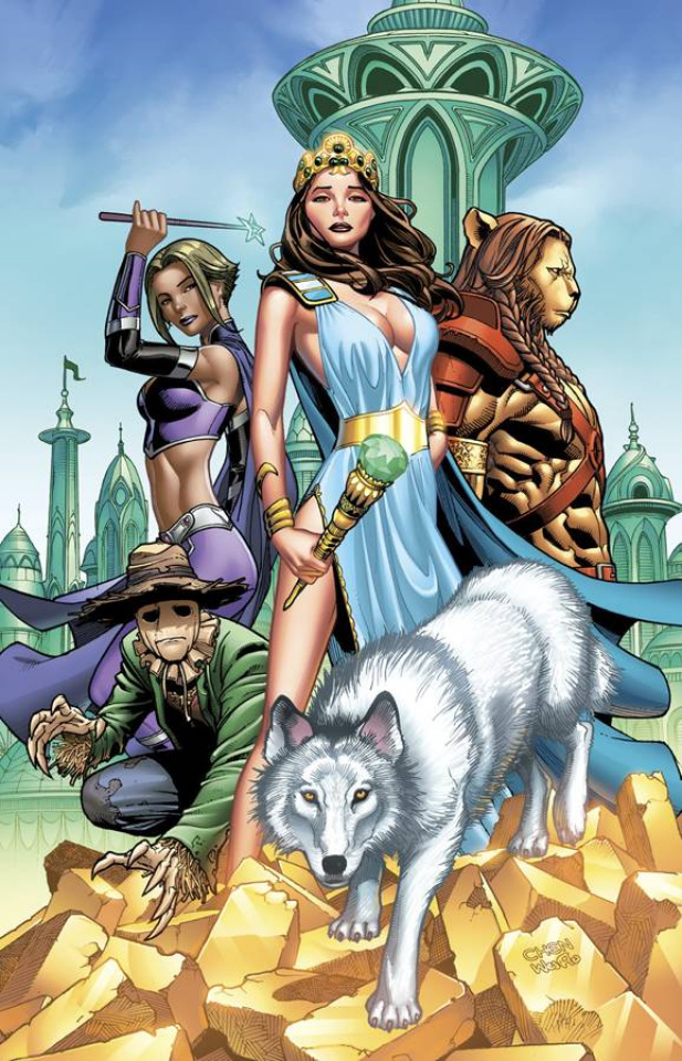 Grimm Fairy Tales: Oz - Reign of the Witch Queen #1 (Chen Cover)