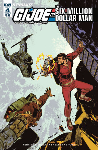 G.I. Joe vs. The Six Million Dollar Man #4 (Loh Cover)