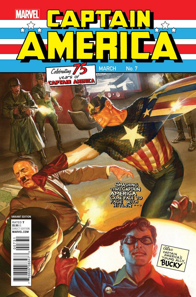 Captain America: Sam Wilson #7 (Ross Classic Cover)