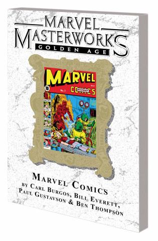Golden Age Marvel Comics Vol. 2 (Marvel Masterworks)