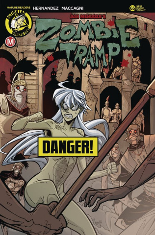 Zombie Tramp #65 (Maccagni Risque Cover)