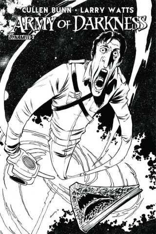Army of Darkness #2 (15 Copy Seeley B&W Cover)
