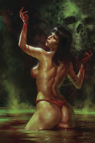 Vengeance of Vampirella #5 (Parrillo Virgin Cover)