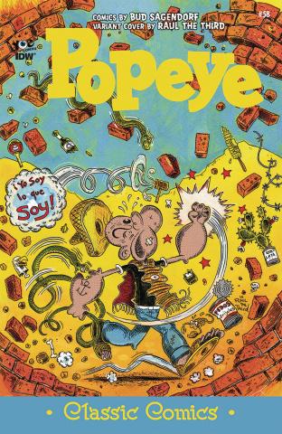 Popeye Classics #58 (10 Copy Cover)