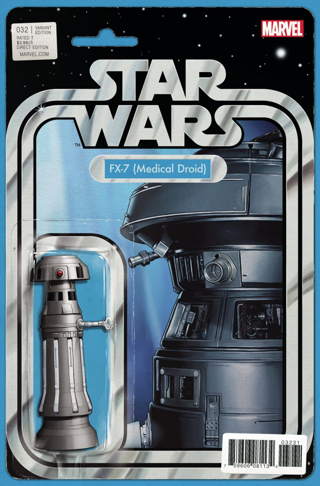 Star Wars #32 (Christopher Action Figure Cover)