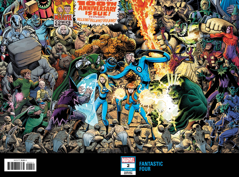 Fantastic Four #2 (Adams Connecting Wraparound Cover)