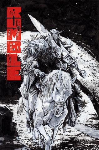 Rumble #17 (Fiumara Cover)