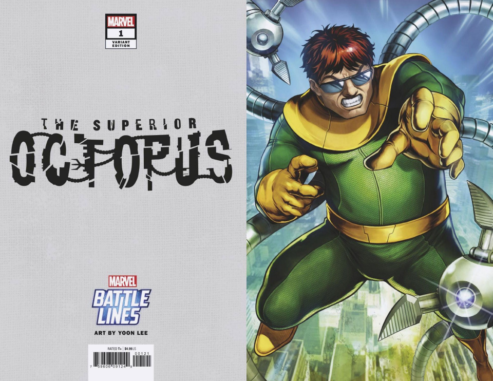The Superior Octopus #1 (Sujin Jo Marvel Battle Lines Cover)