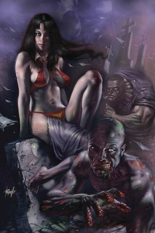 Vengeance of Vampirella #7 (Parrillo Virgin Cover)