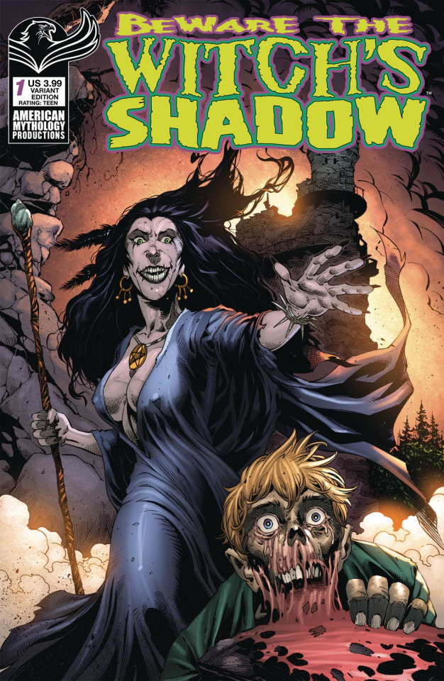 Beware the Witch's Shadow #1 (Bonk Cover)