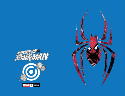 Non-Stop Spider-Man #1 (Die Cut Cover)