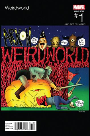 Weirdworld #1 (Doe Hip Hop Cover)