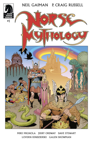 Norse Mythology #1 (Russell Cover)