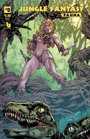 Jungle Fantasy: Fauna #0 (Natural Beauty Cover)