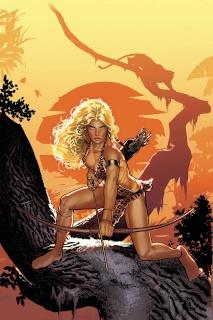 Sheena #1 (40 Copy Sook Virgin Cover)