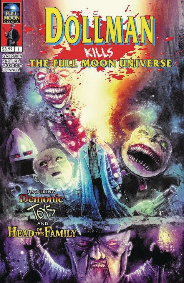 Dollman Kills The Full Moon Universe #1 (Templesmith Cover)