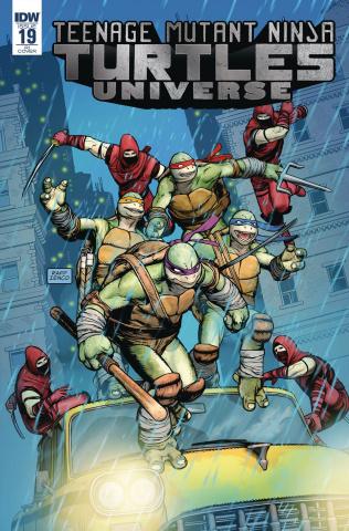 Teenage Mutant Ninja Turtles Universe #19 (10 Copy Cover)