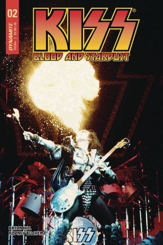 KISS: Blood and Stardust #5 (Photo Cover)