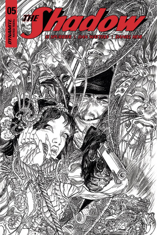 The Shadow #5 (40 Copy Kaluta B&W Cover)