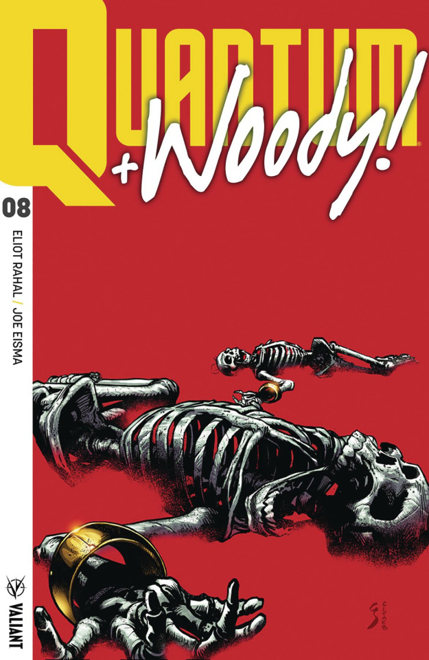 Quantum & Woody #8 (Ultra Foil Shaw Cover)