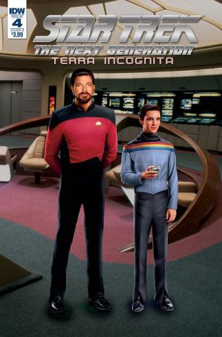 Star Trek: The Next Generation - Terra Incognita #4 (Photo Cover)