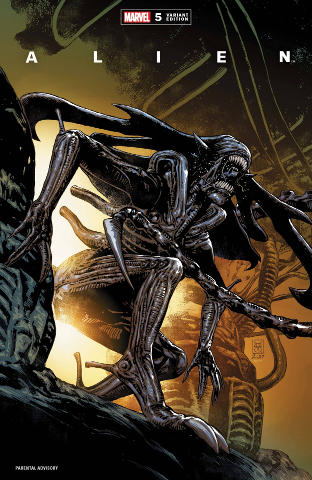 Alien #5 (Giangiordano Cover)