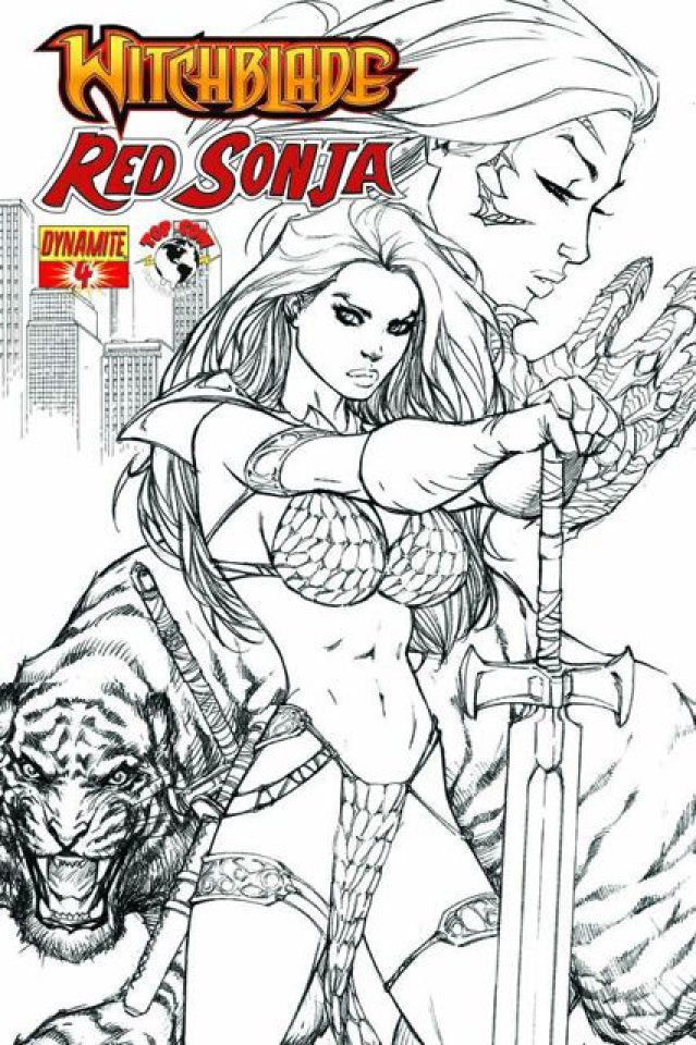 Red Sonja / Witchblade #4