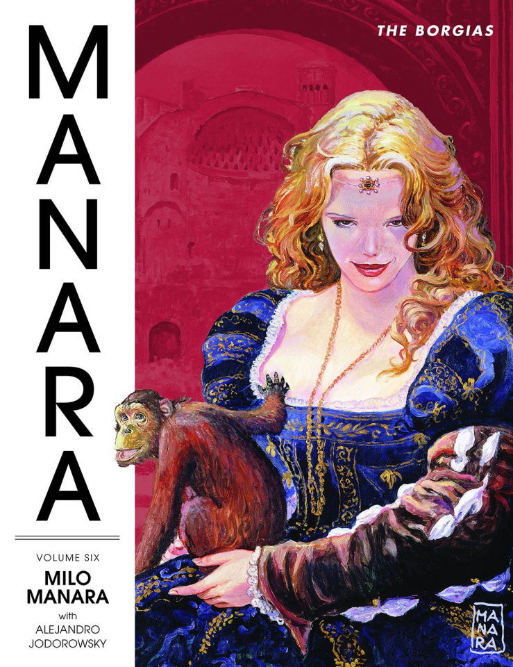 The Manara Library Vol. 6