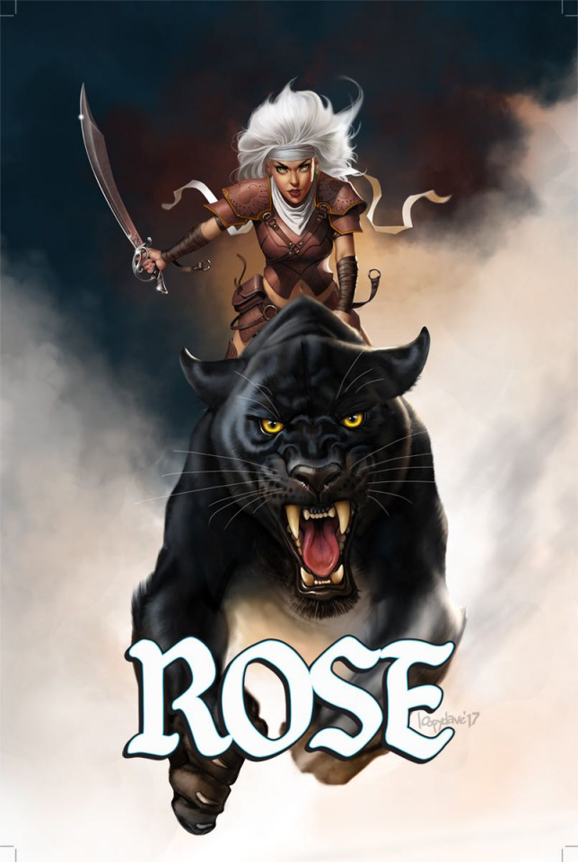 Rose #8 (Loopydave Cover)