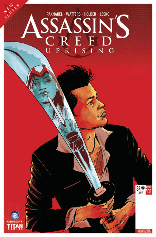 Assassin's Creed: Uprising #4 (Gorham Cover)