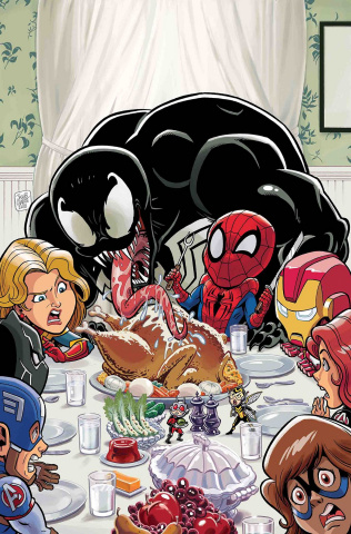 Marvel Super Hero Adventures: Captain Marvel #1: Mealtime Mayhem